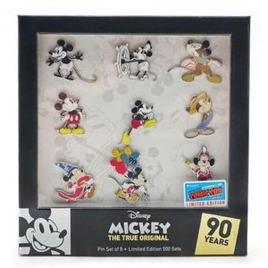 Disney Mickey 90th Limited Edition Pin Set
